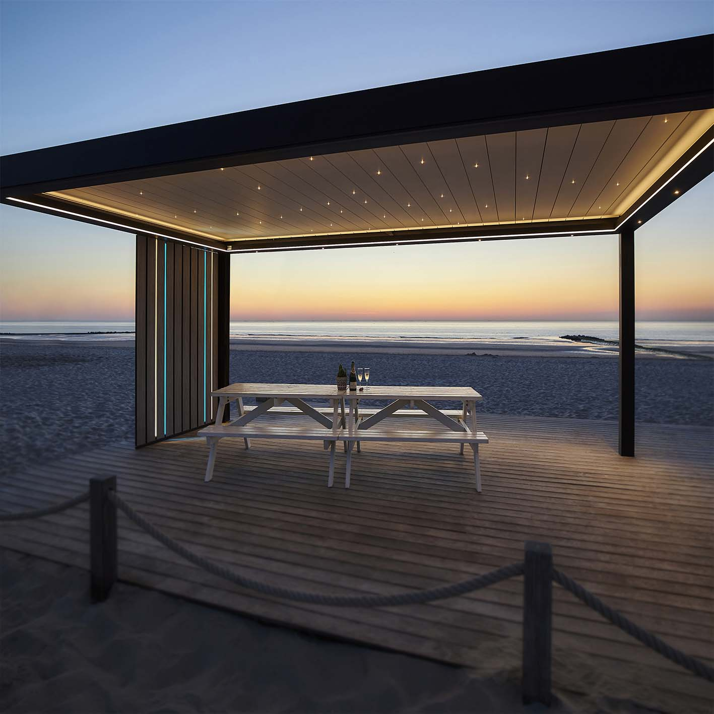 You are currently viewing Benefits of aluminium over wood timber pergolas